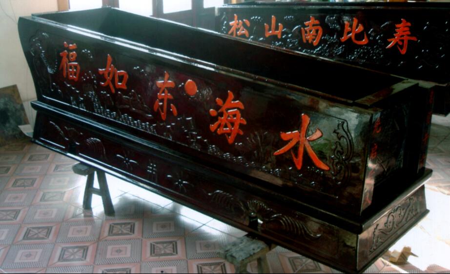 棺材架子结构图
