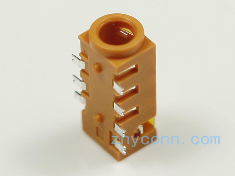 专业连接器色彩PJ-3536-210R8L5S立体声耳机插孔