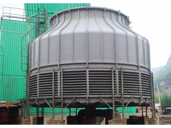 玻璃钢结构框架逆流冷却塔|喷雾节能冷却塔