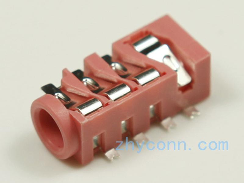 专业生产3.5耳机插座PJ-3536-G13L6S沉板