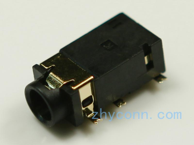 厂家耳机插口PJ-3537-L6G应用于对讲机,音响等设备