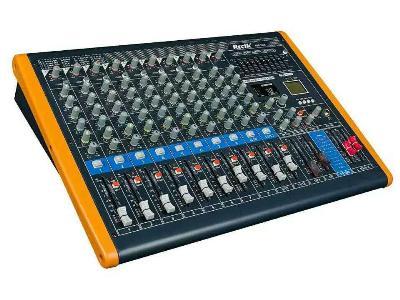 調音臺 內置99種DSP數字混響效果器