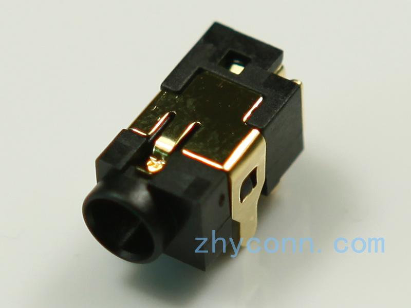 厂家直供DC电源插座DC-0033-10L6G应用于音乐器材