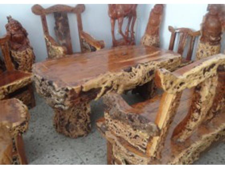 许昌枣木茶台定制-买超值的枣木茶台,就到宏达根艺雕刻中心