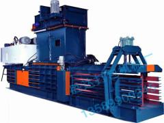 全自动废纸打包机型号:销量领先的SD-120吨书本报纸打包机长期供应