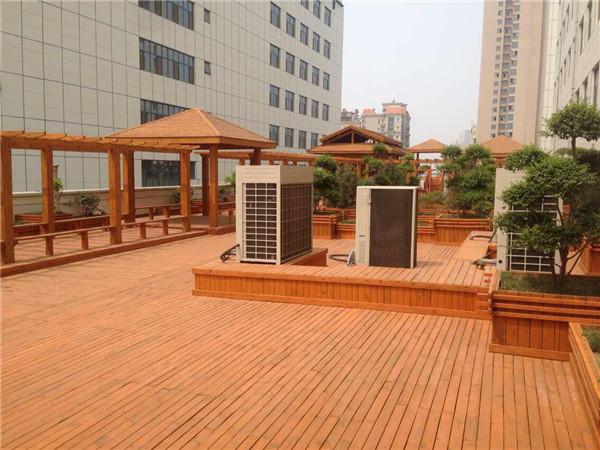 广西防腐木地板批发,广西公园防腐木地板安装