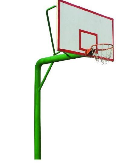 厂家直销地埋圆管篮球架 户外成人篮球架