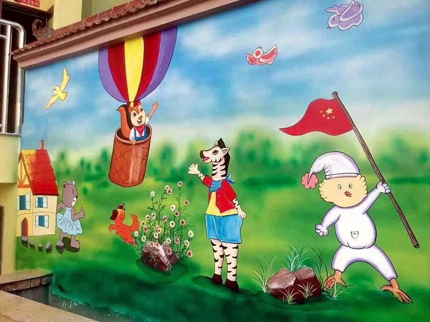 云南墙画多少钱——口碑好的墙画设计公司优选云南亨立沃森