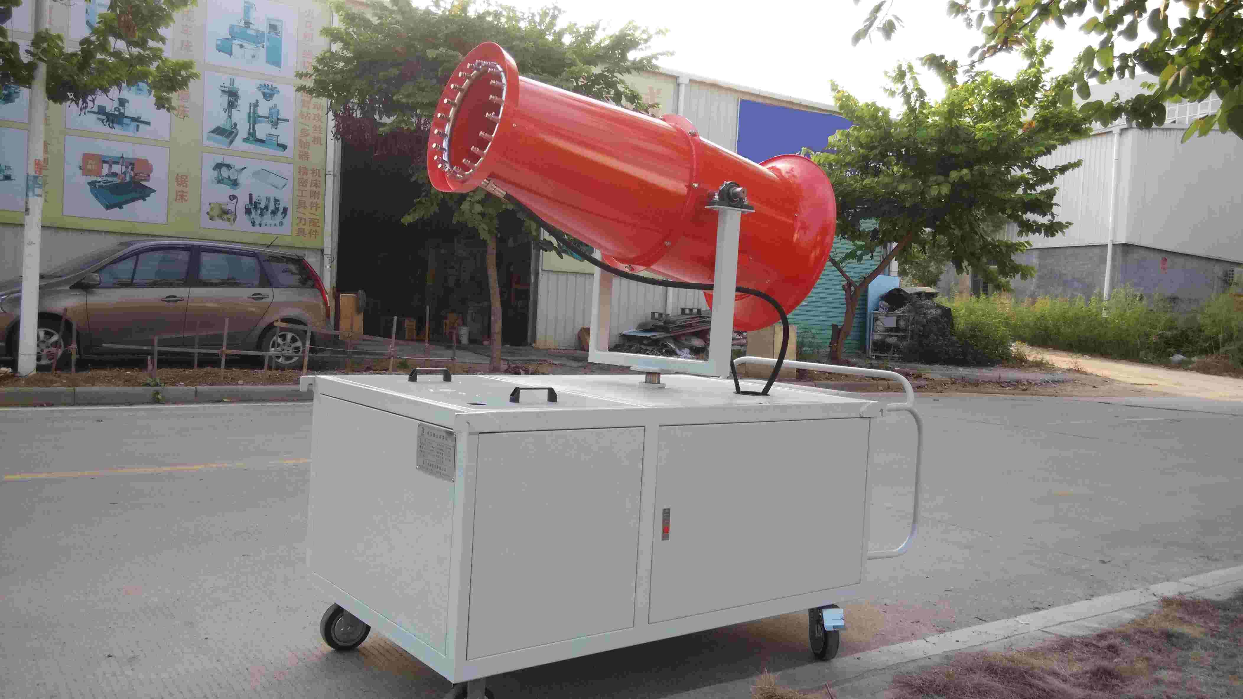 厦门龙耀为了确保风送式工地专用远程除尘喷雾机品质的领先和稳定,厦门龙耀严格按照国际质量管理体系认证进行生产,并以完善的品质管理模式管理,我司的风送式工地专用远程除尘喷雾机在市场上的占有率正稳步提高。我们生产的产品具有除尘、降温的用途,在全国受到一致好评! 厦门龙耀的风送式工地专用远程除尘喷雾机以新颖的款式,精致的手工,优质的性能及售后服务得到业内人士的一致好评,更有部分产品热销于全国省内外地区,在压缩设备行业领域一直拥有很好的口碑。欢迎需求人士来我们公司考察与指导!公司地址:厦门市湖里区港中路1269号象