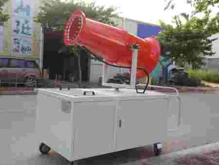 福州泉州厦门远程风送式除尘式喷雾机风炮雾炮水炮