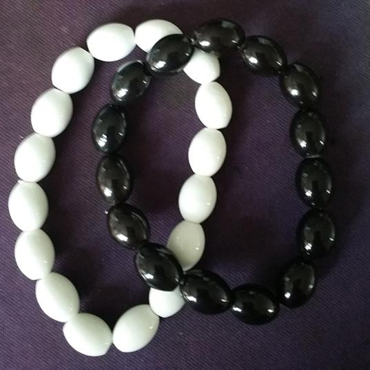 能量電氣石珠子,托瑪琳長圓珠,托瑪琳手鏈