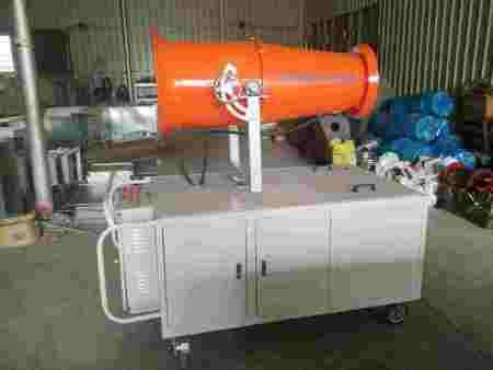 福州泉州厦门远程风送式除尘式喷雾机风炮雾炮水炮自动