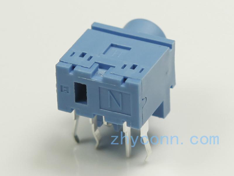 蓝耳机插座PJ-3047S-BL11Z2S用于手提,GPS等