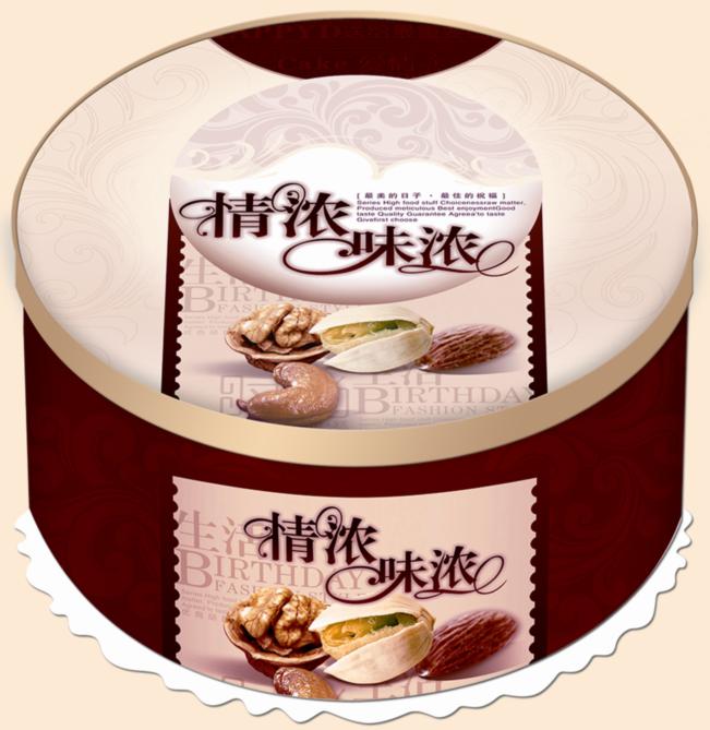 新圆形卷边蛋糕盒.批发商.生产厂家