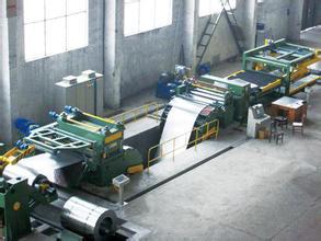 济南横剪机,纵剪机,波纹片成型机波纹片自动焊接机博通液压生产图片