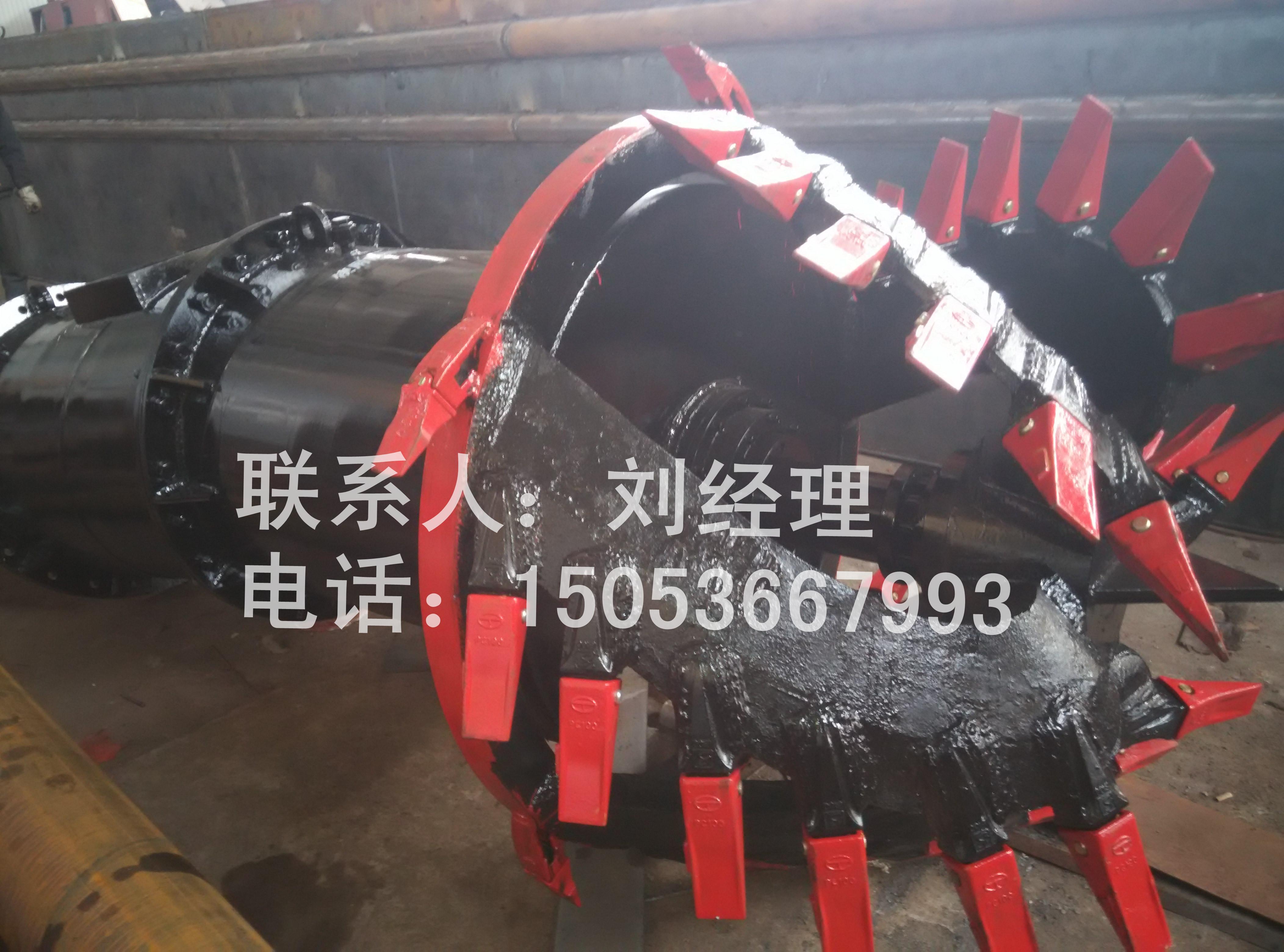 濱州絞吸清淤船配件_報價合理的絞吸清淤船絞刀頭,海河疏浚設備傾力推薦