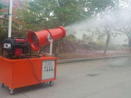 车载式手推带发电机组环保降尘风送式远程喷雾机雾炮