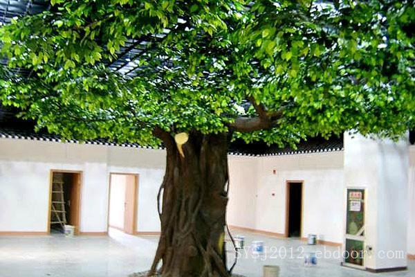 金鼎园林雕塑公司专业供应假树_寻求优质的玻璃钢假树