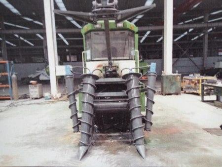 整杆式甘蔗收割机