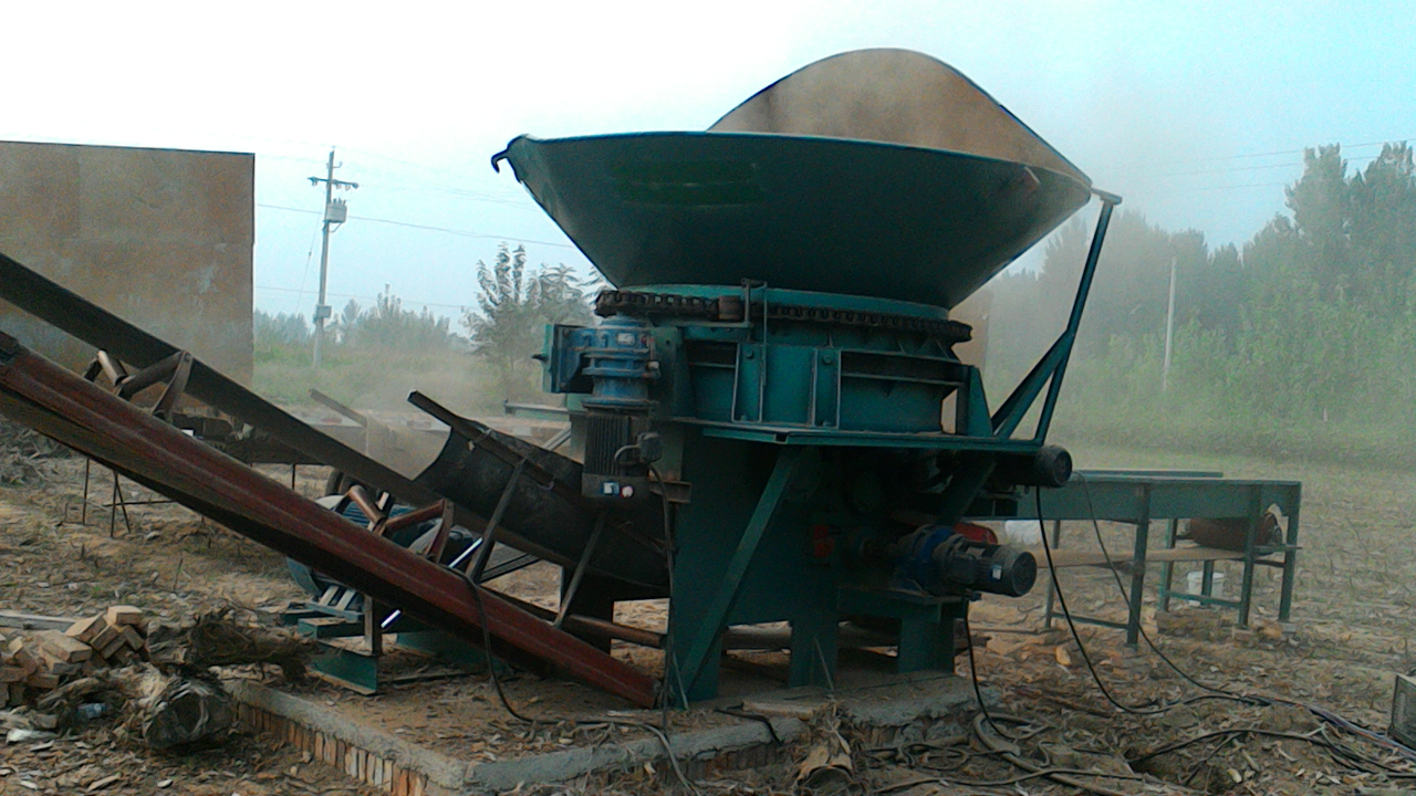 辽宁树墩破碎机#木墩破碎机#木材破碎机#《多功能小型