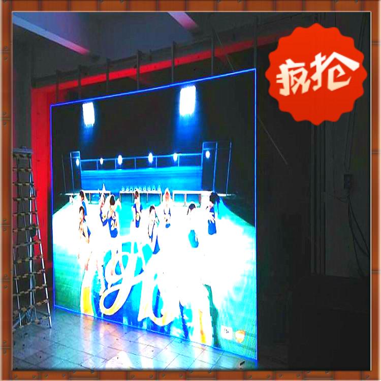 现货大量供应led显示屏室内全彩表贴p6高清播放舞台租赁屏