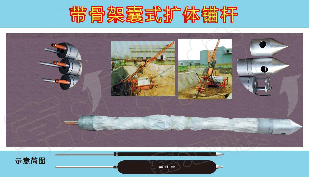 专业的带骨架囊式扩体锚杆制作商_专利扩体锚杆