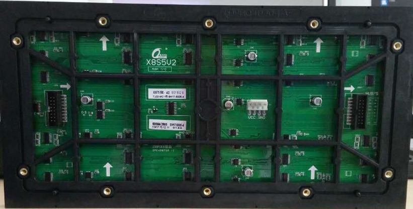 质量好LED室内单元板,福建蓝精灵户外P8表贴全彩显示屏厂家