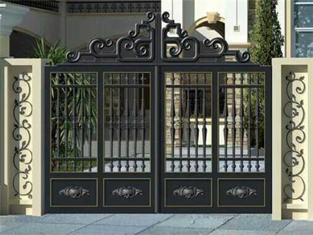 划算的铝艺大门批发|铸铝大门安装