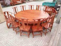 山东品牌老榆木家具出售——榆木家具厂