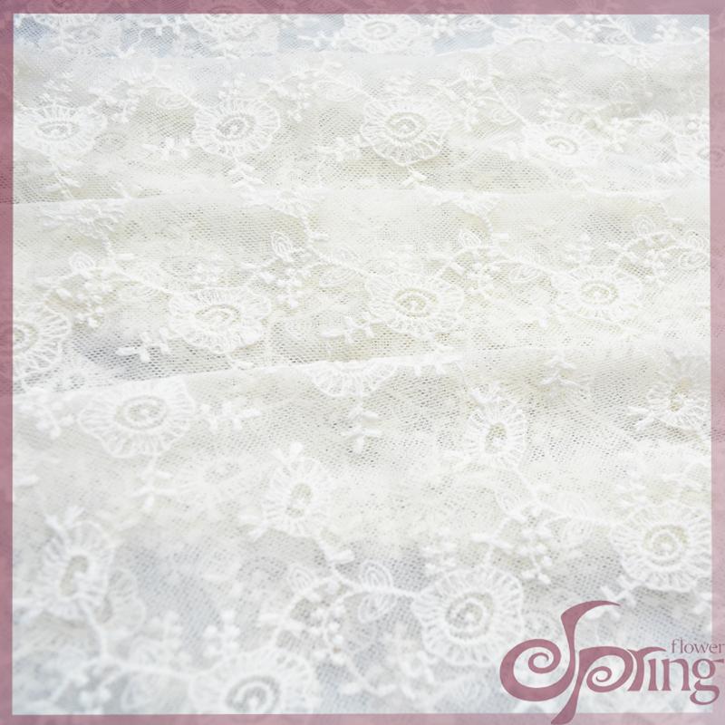 东莞品牌好的精美婚纱蕾丝花边哪里买——印花刺绣蕾丝布