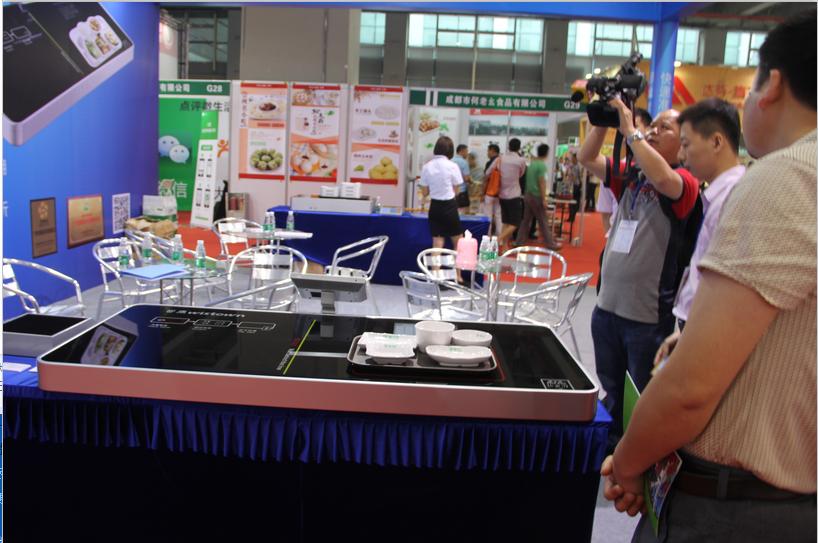 深圳数字餐厅采用RFID射频技术,用餐方便,快捷