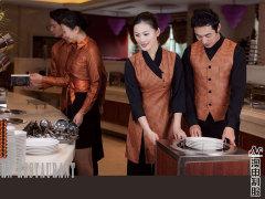 海南餐厅制服定制当选澳申服饰 三亚宾馆制服订做