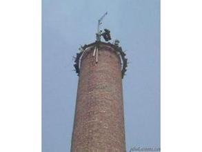 烟囱维修---17米锅炉烟囱拆除加高公司