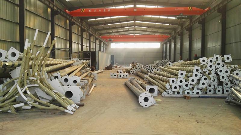 郑州市银泰交通设施有限公司专业生产八棱杆