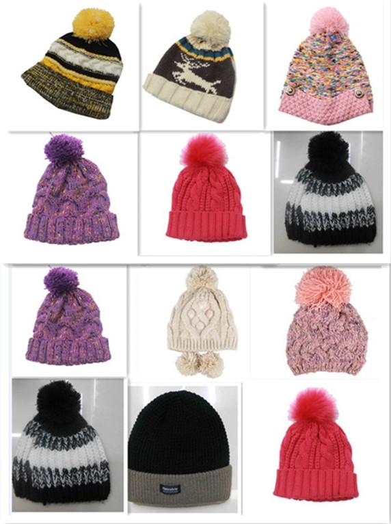 帽子廠家針織帽工廠針織貝雷帽定做手工麻花針織帽定做聚聰帽子廠