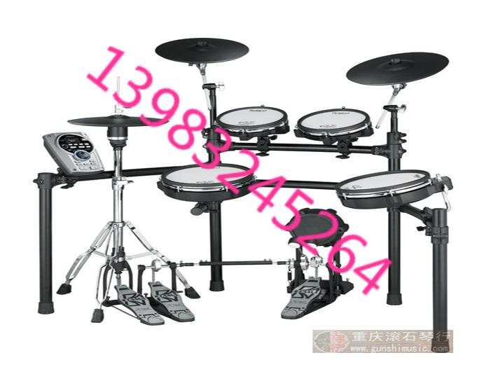 电子架子鼓培训就找重庆滚石琴行联系热线:023-65402281 电子架子鼓培训多少钱