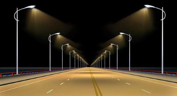 道路景观灯 高杆灯 新农村太阳能路灯 创意庭院灯 景观路灯图片