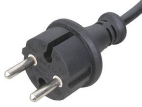 欧式电源插头线批发厂/欧式电源插头线价格——【光明】