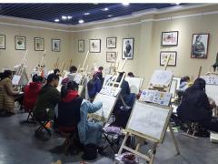 泰山焦點美術工作室:集美術、文化課綜合培訓的畫室