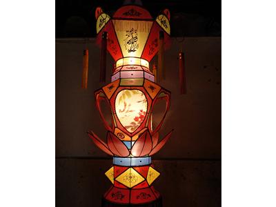料丝花灯设计——福建地区专业刻纸花灯供应商 林守明