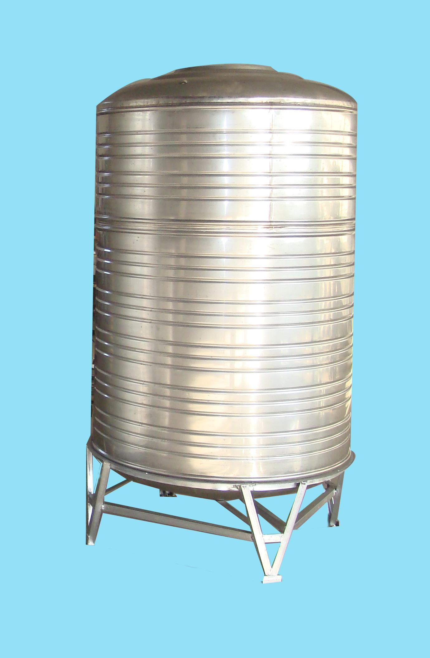 不锈钢水箱,圆柱型不锈钢水箱