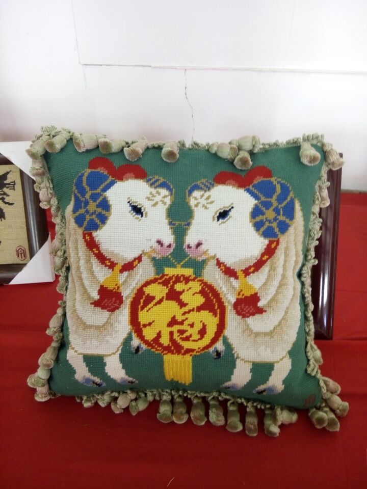 上海莫氏绒绣非物质文化遗产的传承