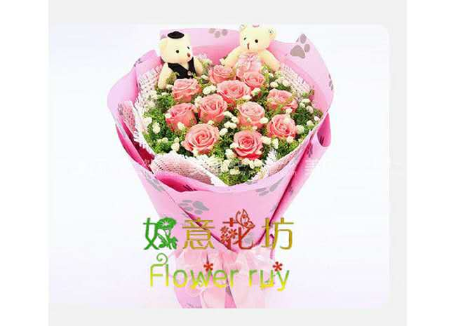 【高新区鲜花派送/鲜花速递/鲜花预定】就选如意鲜花,价格优惠