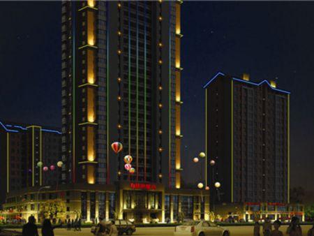济南专业城市亮化—【翔里光电】城市亮化厂家制作,亮点设计!