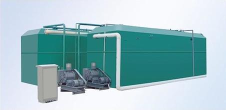 地埋式一体化污水处理设备的操作流程【新科环保】