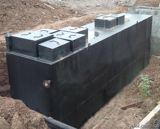 浅谈地埋式一体化污水处理设备【新科环保】