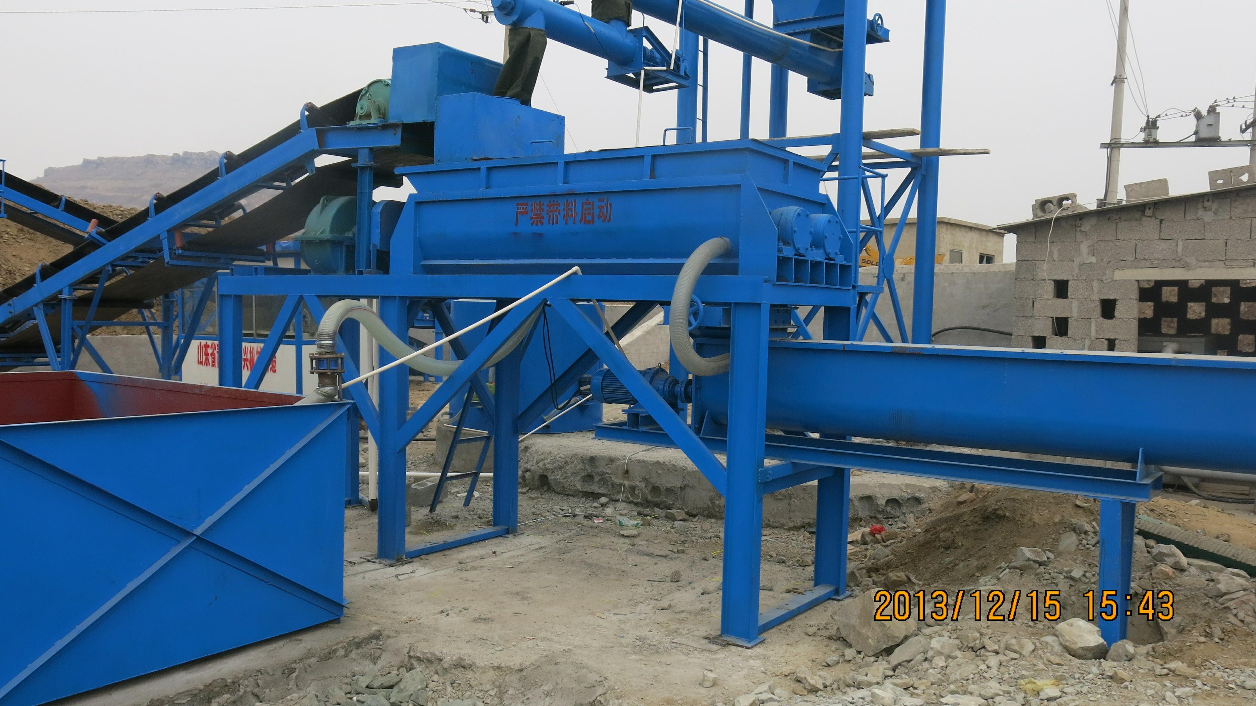 煤矸石回填設備-晟洋環保工程提供合格的煤礦充填設備