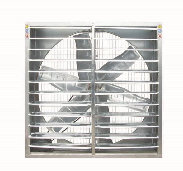 水帘风机生产商-宏旭温控提供销量好的普通百叶水帘风机