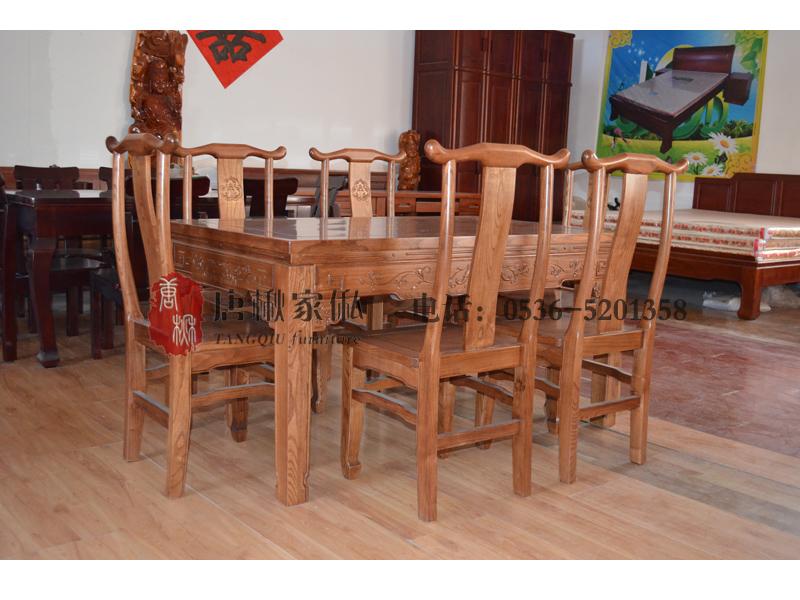 楸木餐桌尺寸-濰坊材質好的楸木餐桌推薦