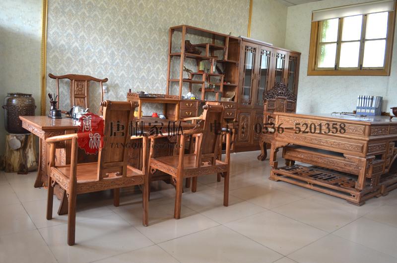 楸木辦公桌哪家好-想買楸木辦公室家具就到晶雅木業